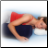 Tear Drop Positioning Pillow for Stomach Sleepers