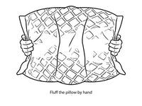 Memory Foam + Fiber Neck Pillow for Sleeping- Adjustable Pillows for the Side & Back Sleeper with Washable Bamboo-Tech Pillow Covers *Queen or King*