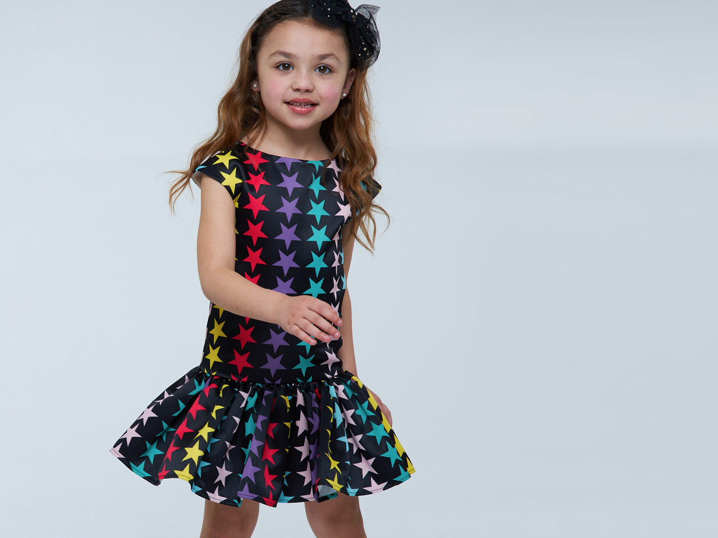 Fun stripe star dress