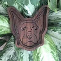 Doberman Catch All Tray - Two Moose Design