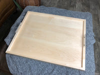 Hard Maple Serving Ottoman Tray