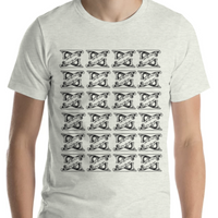 Hand Plane Short-Sleeve Unisex T-Shirt - Two Moose Design