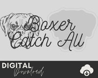 Boxer SVG - Two Moose Design