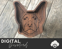 Doberman SVG - Two Moose Design
