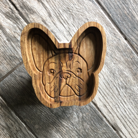 Frenchie Catch All Tray - Two Moose Design