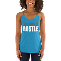 Women's Racerback Tank - Two Moose Design
