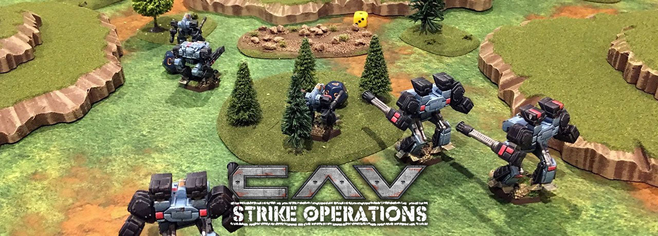 CAV: Strike Operations Miniatures