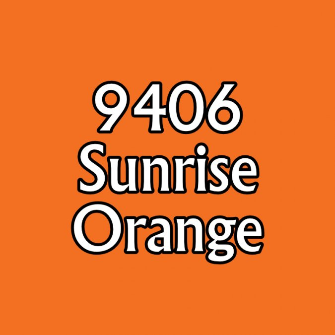 09406 SUNRISE ORANGE