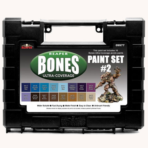 09977 MSP BONES ULTRA-COVERAGE PAINTS: SET 2