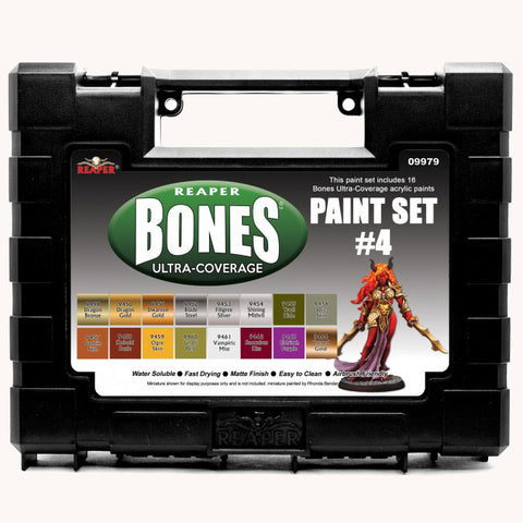 09979 MSP BONES ULTRA-COVERAGE PAINTS: SET 4