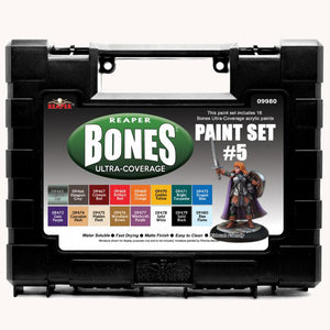 09980 MSP BONES ULTRA-COVERAGE PAINTS: SET 5