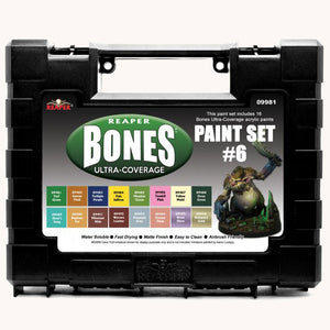 09981 MSP BONES ULTRA-COVERAGE PAINTS: SET 6