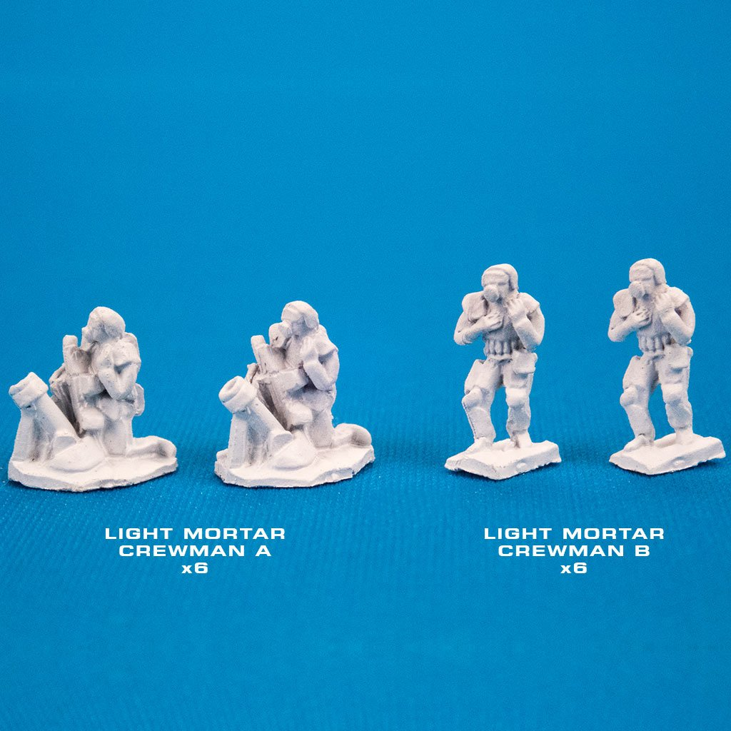 72246 LIGHT INFANTRY W/LIGHT MORTARS