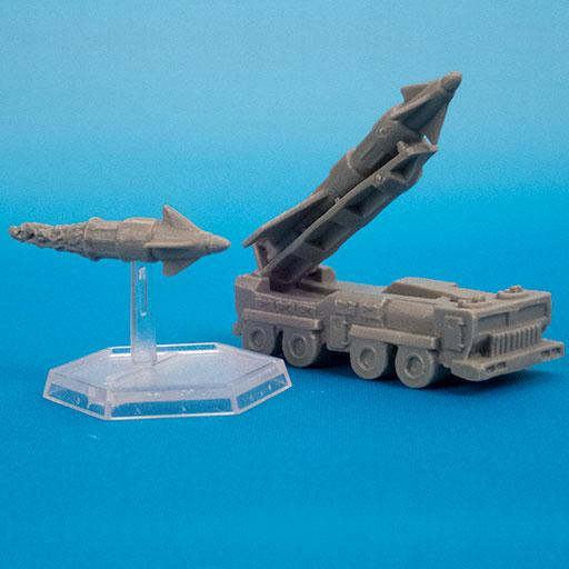72256 WHISPER CRUISE MISSILE LAUNCHER (VEHICLE)