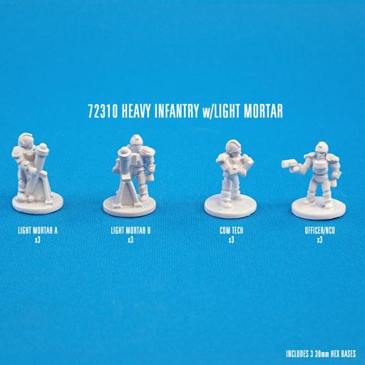 72310 HEAVY INFANTRY W/LIGHT MORTARS