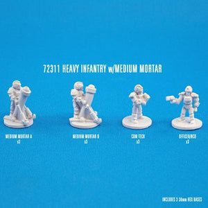 72311 HEAVY INFANTRY W/MEDIUM MORTARS