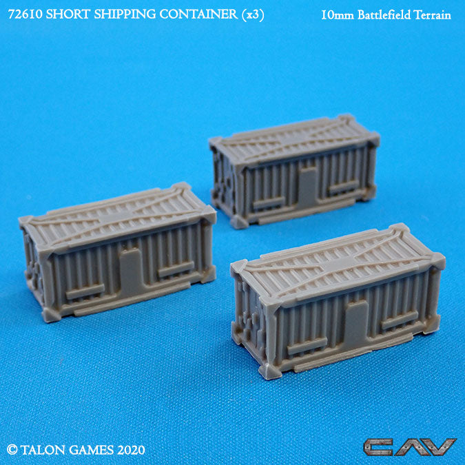 72610 SHORT SHIPPING CONTAINER