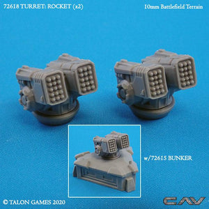 72618 TURRET - ROCKETS