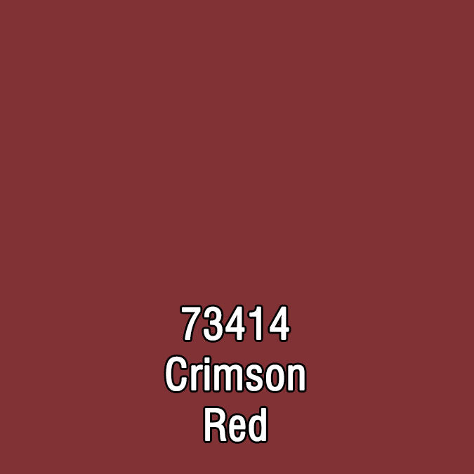 73414 CRIMSON RED CAV ULTRA-COLOR PAINT