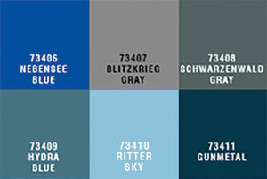 73452 CAV ULTRA-COLOR PAINT SET 2 (RITTER)