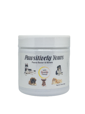 Pawsitively Yours Peanut Butter & Banana Pet Putty