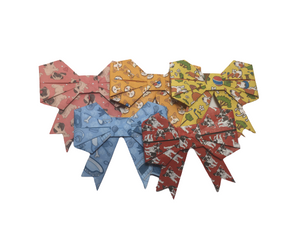 Eco Friendly Dog Present Bows