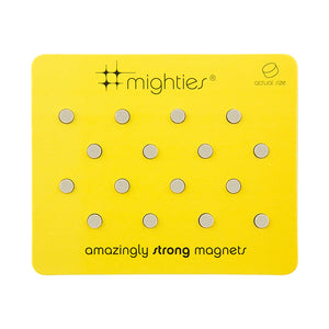 Mighties Magnets-Set of 12-Silver