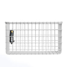 Loop Heavy-Duty Wire Bin-Large-White
