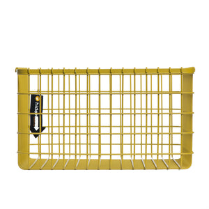 Loop Heavy-Duty Wire Bin-Large-Yellow
