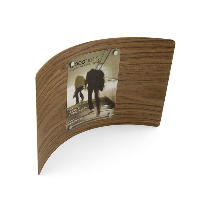 Woodnetic Photo Frame-Concave 6 x 10