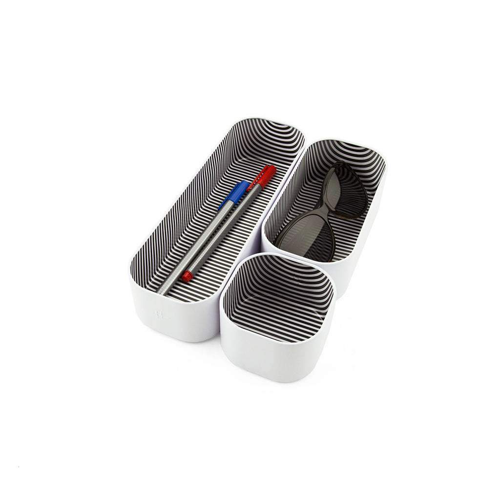 Stacking Bin Set of 3, 2
