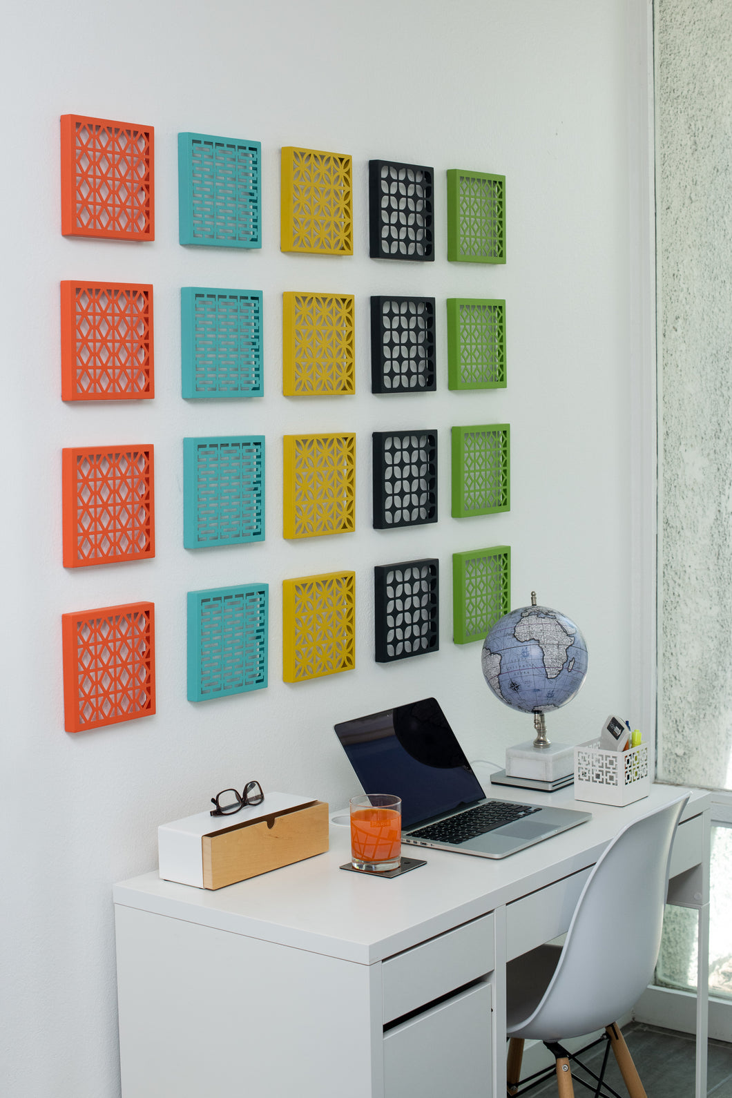 Breeze Block Wall Tile: 7