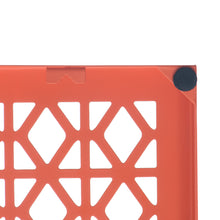 "Breeze Block Wall Tile: 7"" x 7"" Orange"