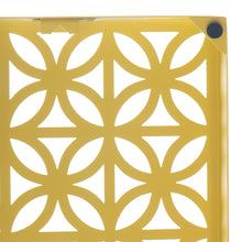 "Breeze Block Wall Tile: 7"" x 7 "" Lemon"