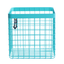 Formation Heavy-Duty Wire Bin-X-Large-Turquoise