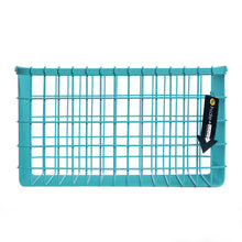Loop Heavy-Duty Wire Bin-Large-Turquoise