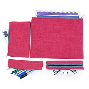 Compose Pouches-set of 4-rose