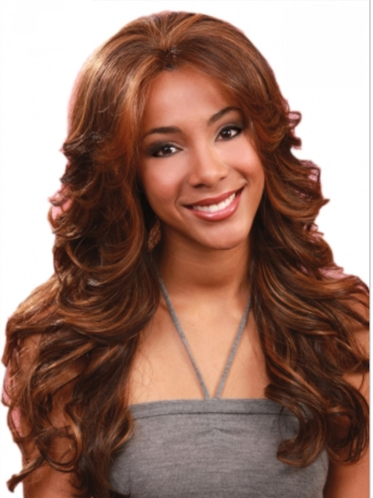Bobbi Boss Pearl Wig Longcurlysynthetic Lacefront Wig