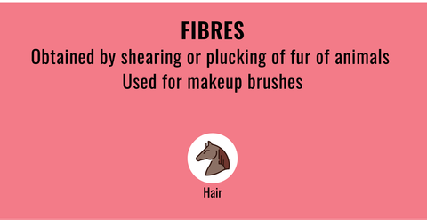 List of typical animal derived Fibres in cosmetics to stay away from if you're vegan