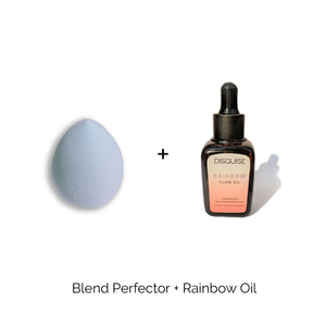 Blend Perfector + Rainbow Glow Oil