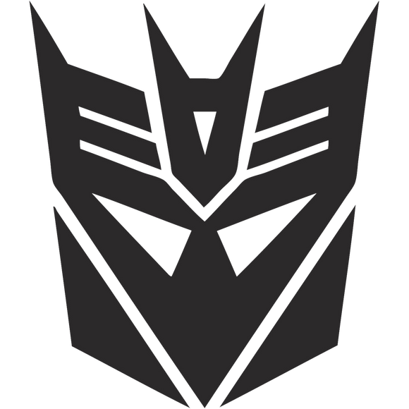 Transformers Decepticons Sled Decals