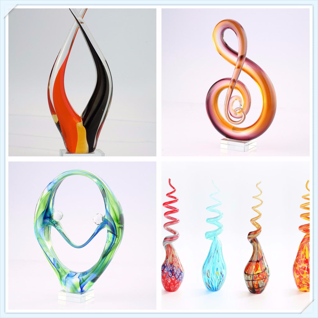 Crystal Xpress for Hand Blown Glass Figurines an Art Home Decor