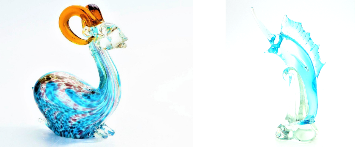 Blown Glass Art Items - A brief History of Hand Blown Glass Origin