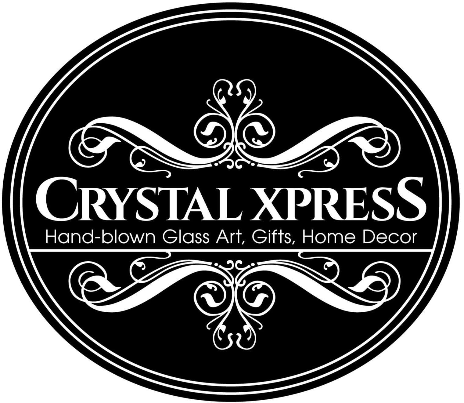 Crystal Xpress Logo, Home Decor, Fragrance Oils, Essential Oils, Hand Blown Art