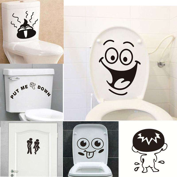 Funny Bathroom Stickers