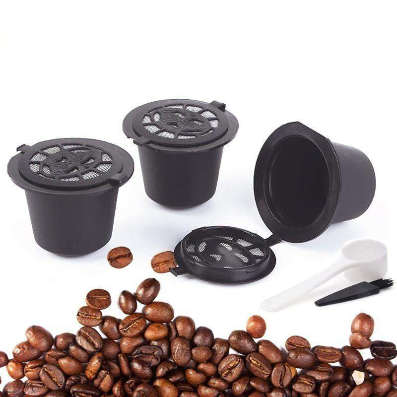 Reusable Nespresso Capsules - 3 Pack - Refillable Pods For Nespresso MachinesCrystal Xpress