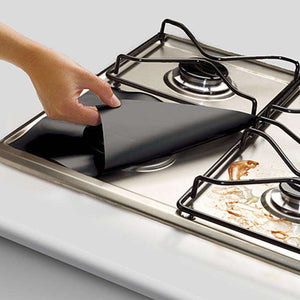 1pc Reusable Gas Stove Burner CoverCrystal Xpress