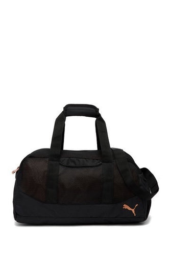 "18"" PUMA Black Revive Duffel Bag"