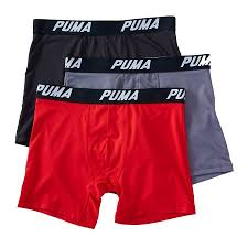 Puma Core Tech Performance Boxer Briefs - 3 Pack - Mens