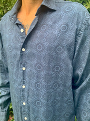 Mandala Button Down
